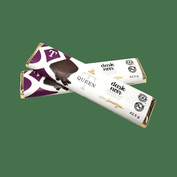 single dark chocolate bars - Queen T