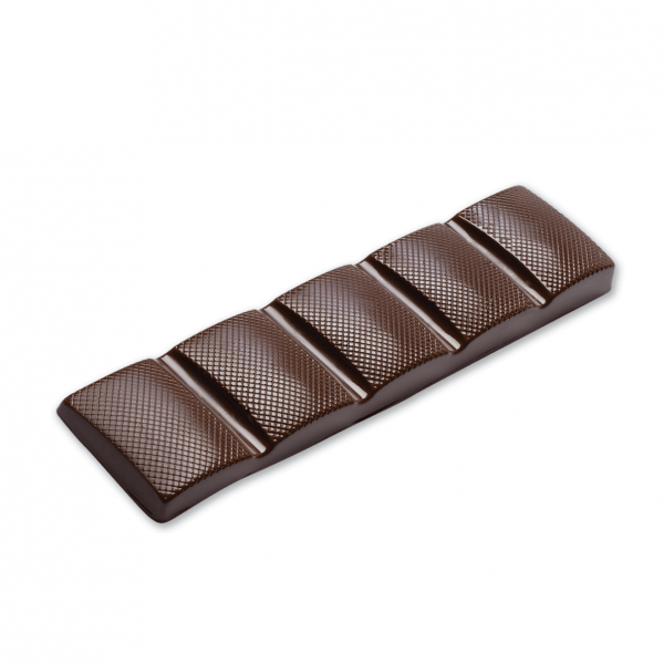 single dark chocolate bar