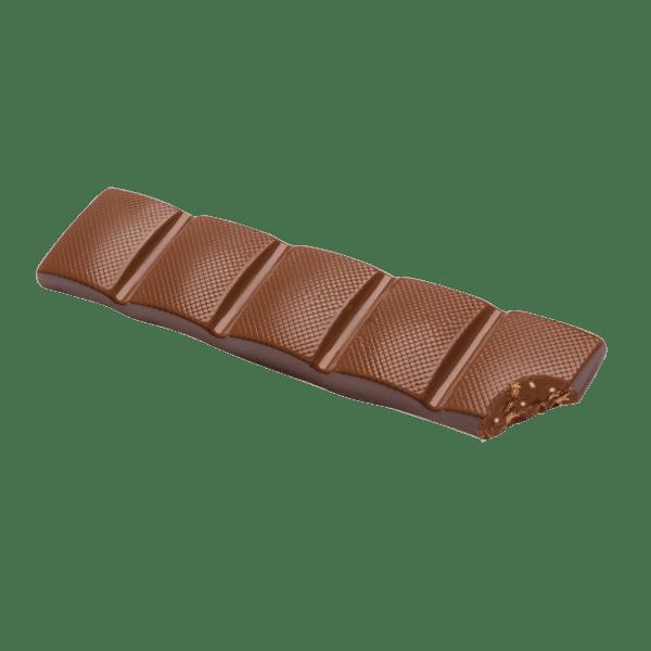 single milk chocolate crispy rice bar