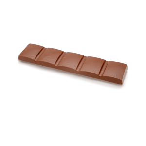 Tablette simple de chocolat au lait