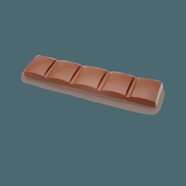 single milk chocolate bar
