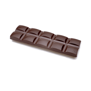 double slim dark chocolate bar