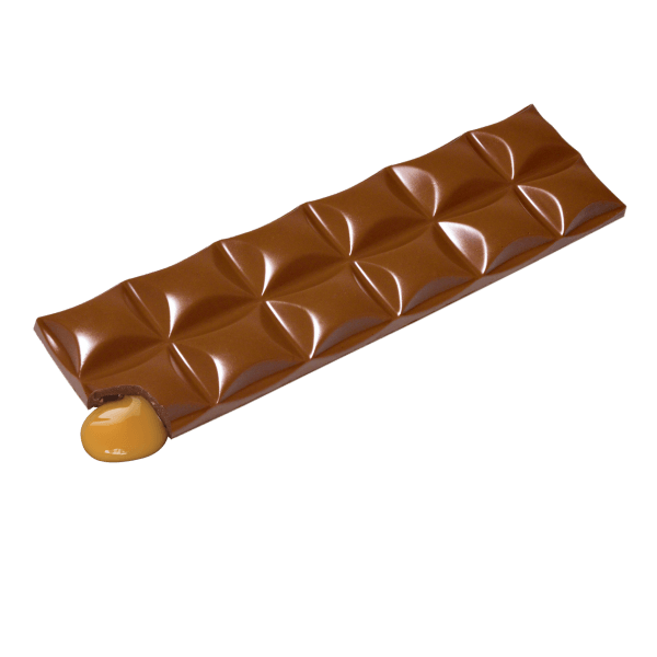 long double milk chocolate caramel bar