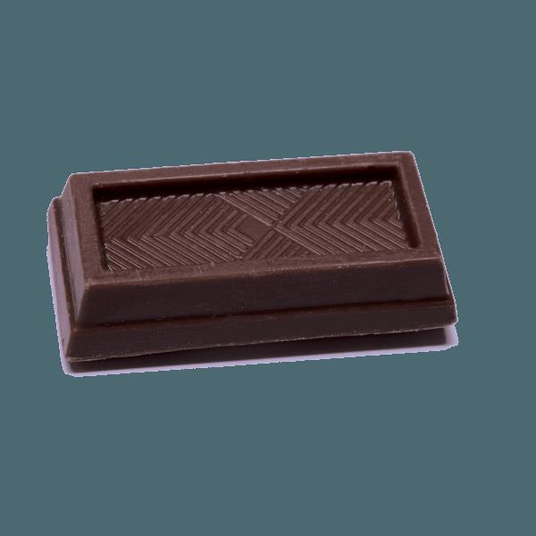 mini dark chocolate bar