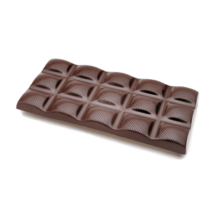 european style dark chocolate bar