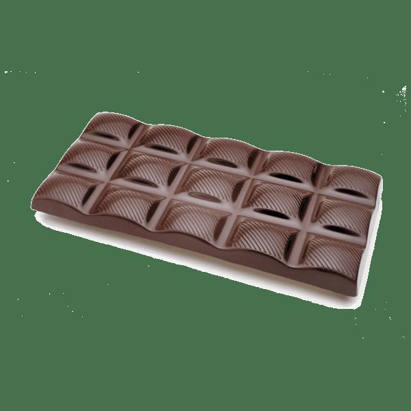 european style dark chocolate bar