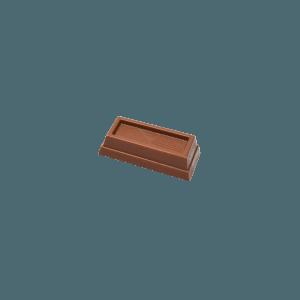 Minibarres de chocolat au lait