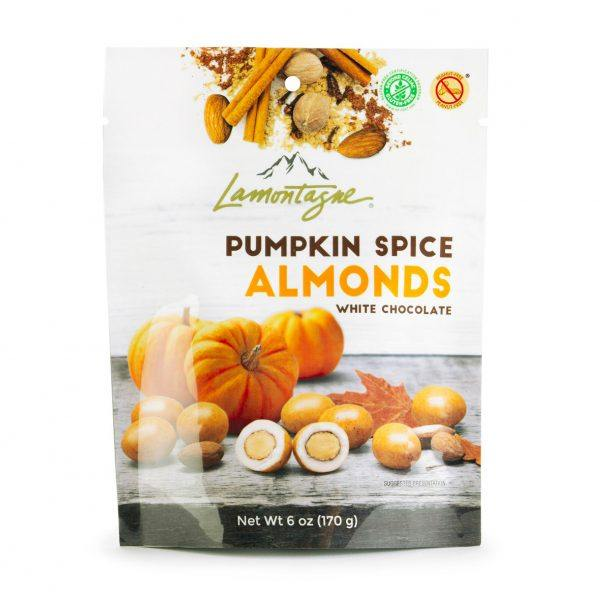 Pumpkin Spice Almonds - pouch