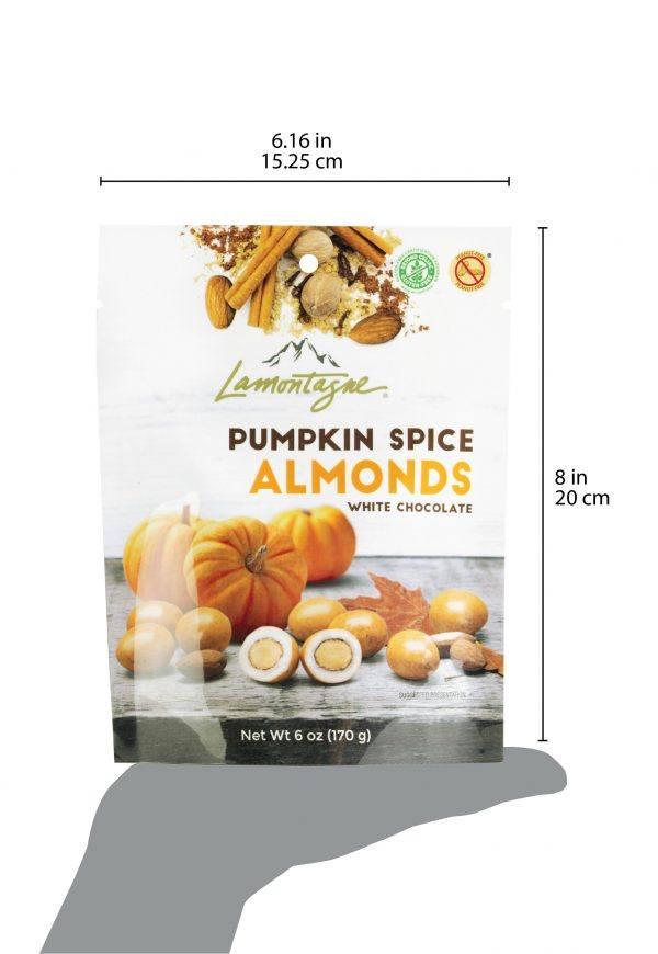 Pumpkin Spice Almonds Bag size