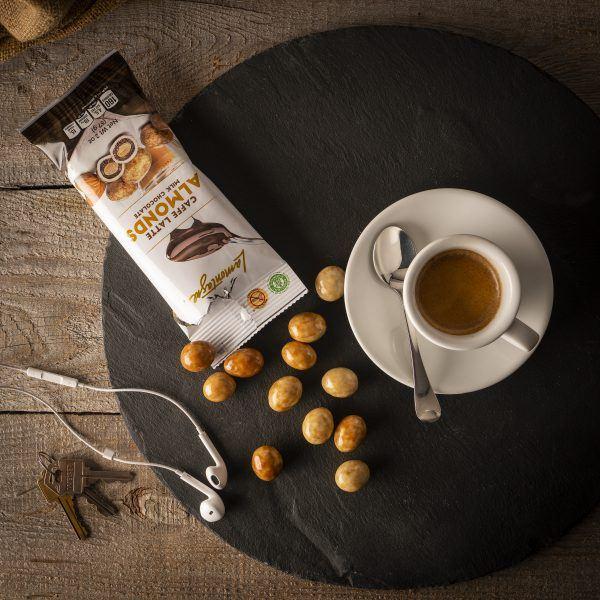 Caffe Latte Almonds - Grab & Go