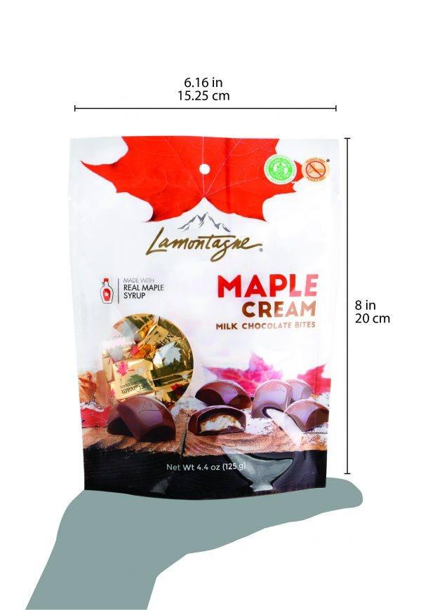 Maple Cream Milk chocolate bites