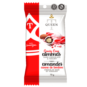 Candy cane almonds - Queen T