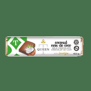 Milk Chocolate Coconut Bar - Queen T