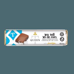 Milk chocolate Sea Salt bar - Queen T