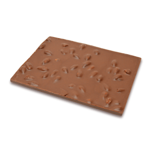 milk chocolate and almonds bark