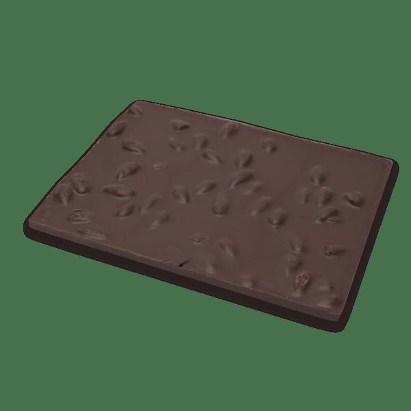 dark chocolate and almonds bark