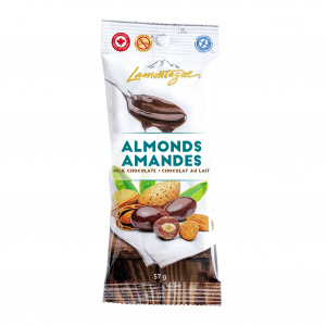milk chocolate coated almonds individual size